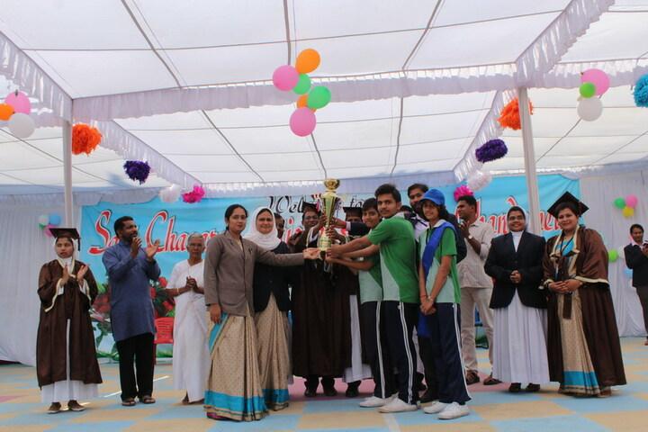 Sant Chavara National Academy-Sports Acheivements