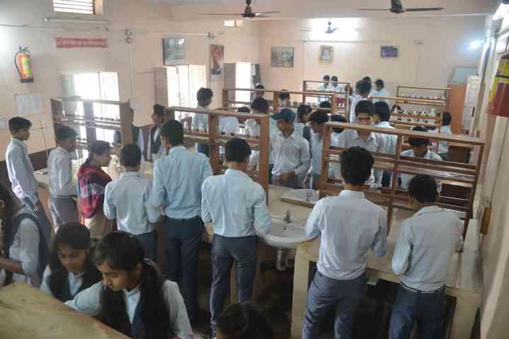 Sarasvati Vidhya Mandir Higher Secondary School-Science Lab