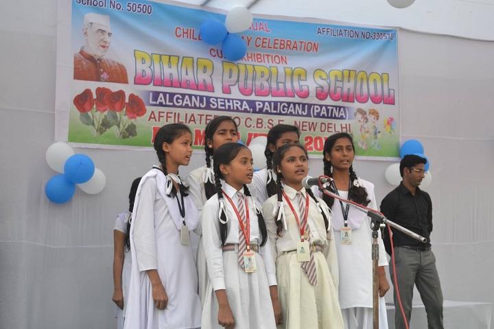Bihar Public School-Singing