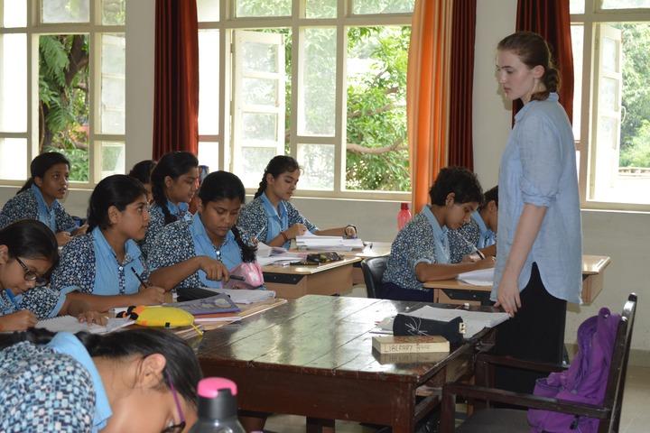 Scindia Kanya Vidyalaya-Classroom