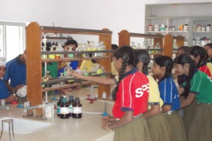 Sendhwa Public School-Chemistry Lab