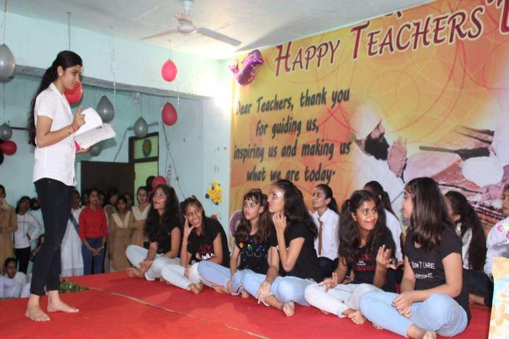 Shah Satnam Ji Girls School-Teachers Day
