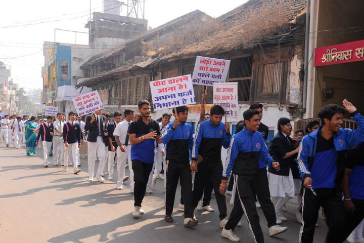 Shanti Niketan Montessori Higher Secondary School-Rally
