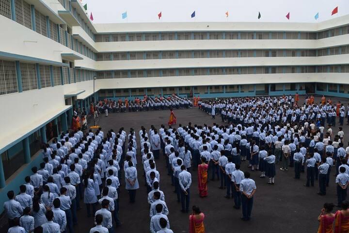 Shanti Public Higher Secondary School-Assembly