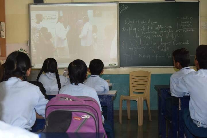 Shanti Public Higher Secondary School-Digital Classroom