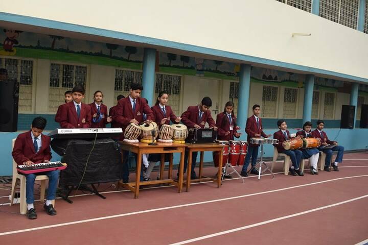 Shanti Public Higher Secondary School-Music