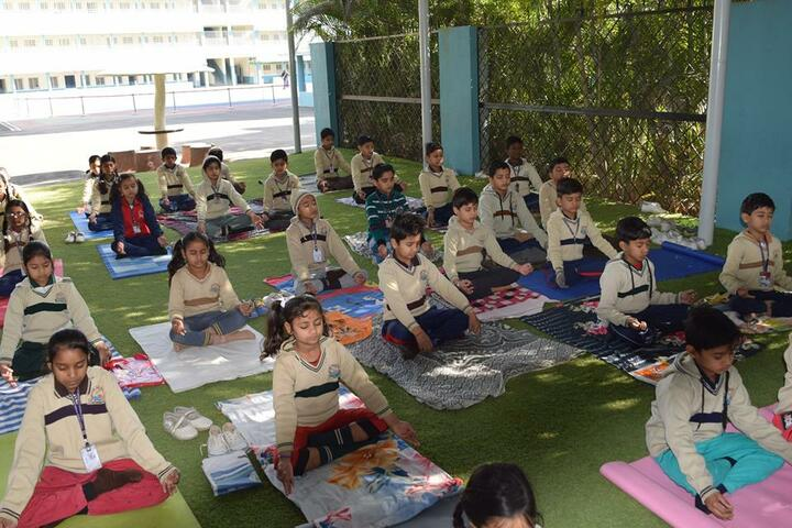 Shanti Public Higher Secondary School-Yoga