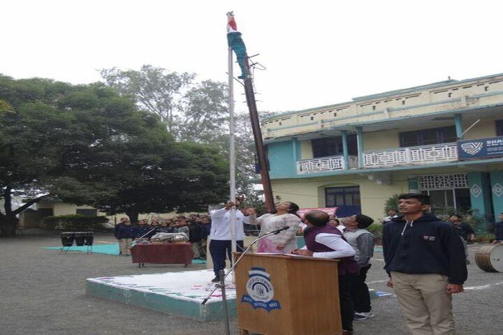 Sharda Vidya Mandir-Flag Hosting