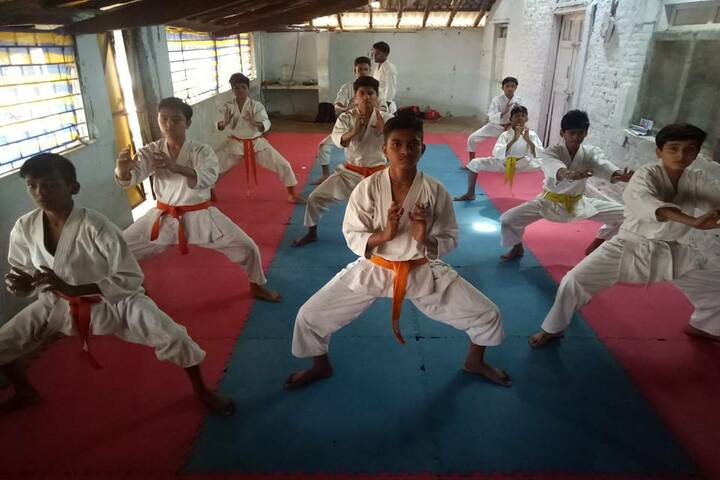 Sharda Vidya Mandir-Martial Arts