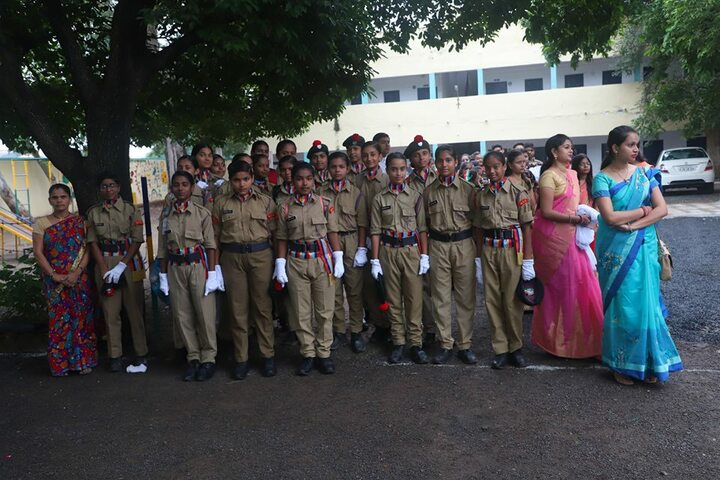 Sharda Vidya Mandir-NCC