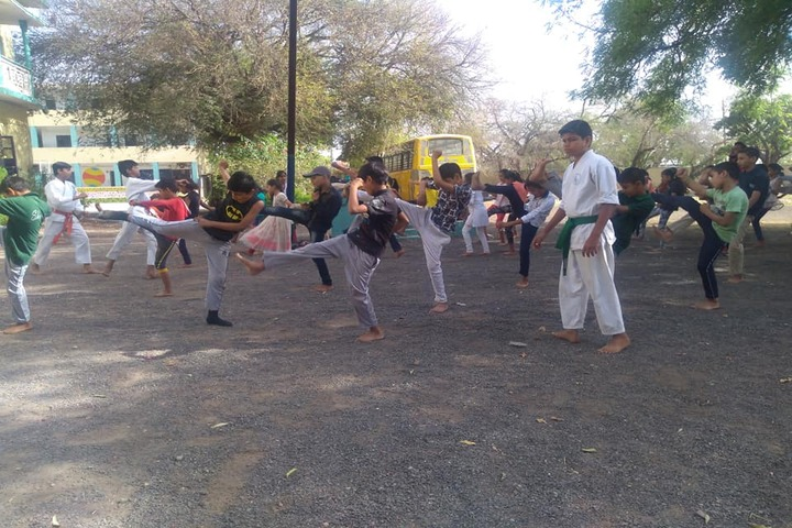 Sharda Vidya Mandir-Taekwondo