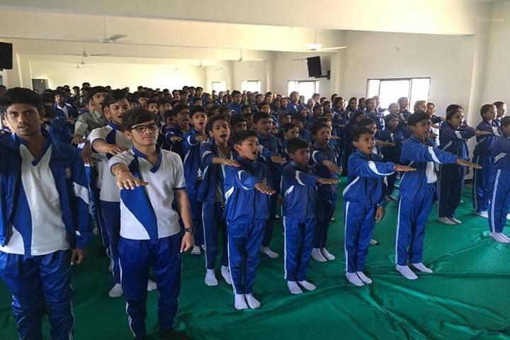 Sharda Vidya Mandir-Assembly