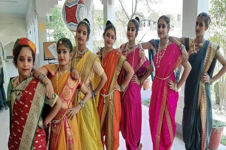 Sharda Vidya Mandir-Fancy Dress
