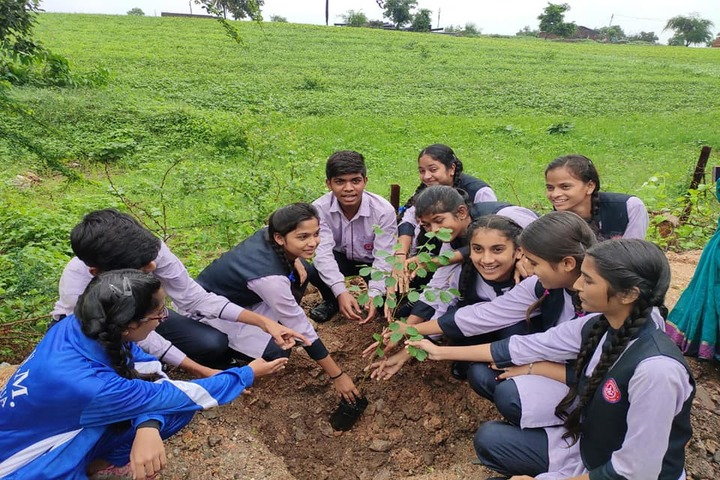 Sharda Vidya Mandir-Plantation