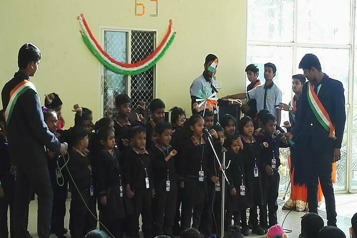 Sharon International School-Group Song