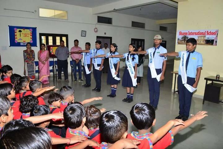 Sharon International School-Investiture Ceremony