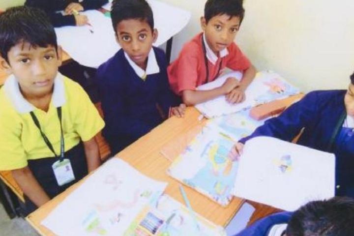 Shiv Shakti International School-Classroom