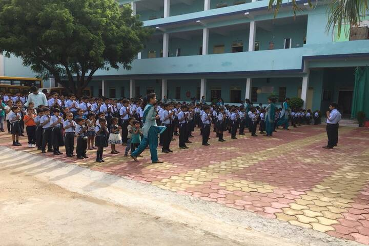 Shivam Higher Secondary School Porsa-Assembly