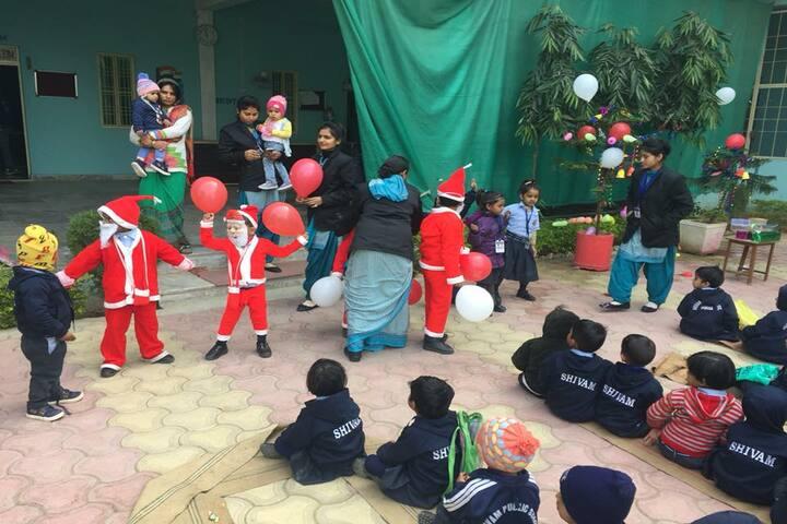 Shivam Higher Secondary School Porsa-Christmas Celebrations
