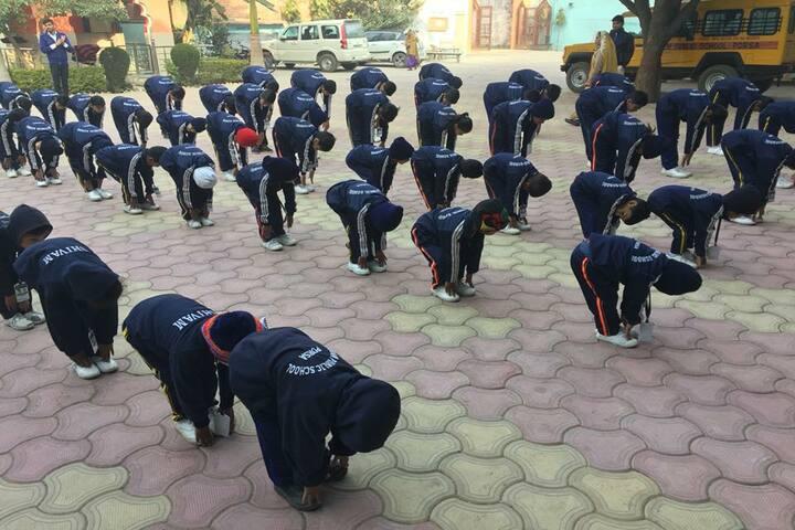 Shivam Higher Secondary School Porsa-Exercise