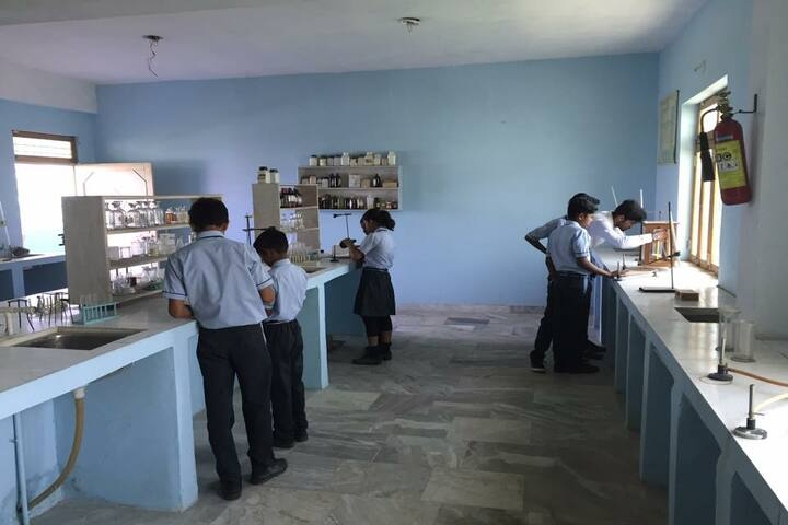 Shivam Higher Secondary School Porsa-Science Labs
