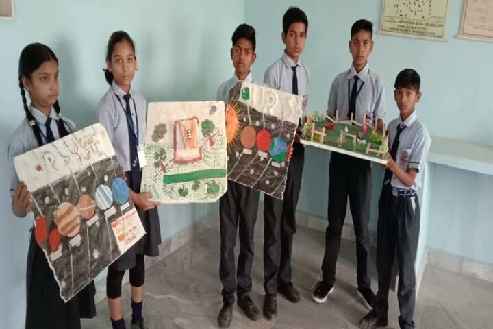 Shivam Higher Secondary School Porsa-Science Projects