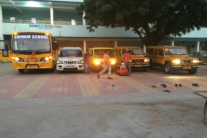 Shivam Higher Secondary School Porsa-Transport