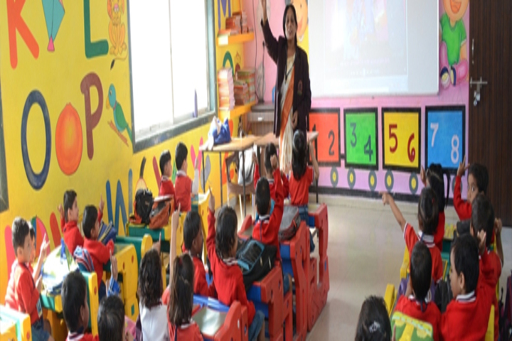 Shree Bafna Public School-Kids Classroom