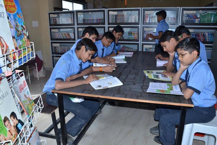 Shree Bafna Public School-Library