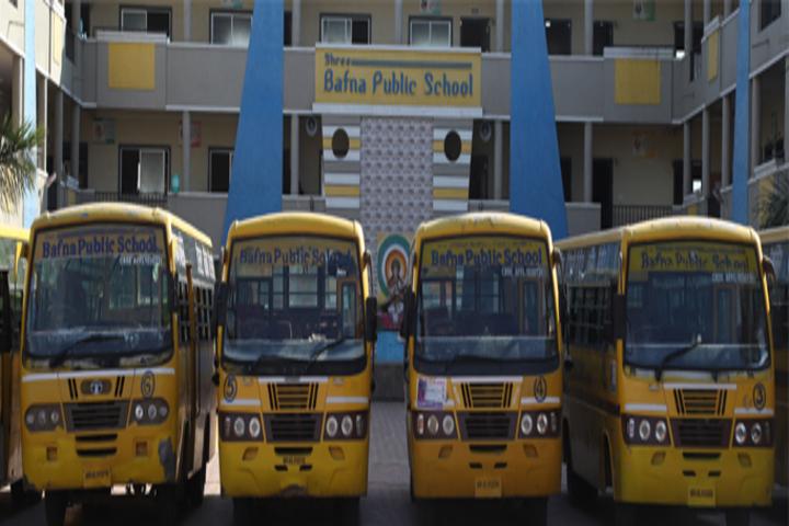 Shree Bafna Public School-Transport