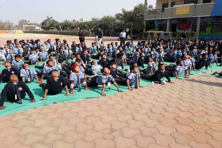 Shree Bafna Public School-Yoga day