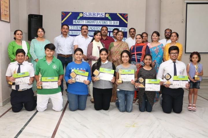 Shree Bhavans Bharti Public School-Acheivements