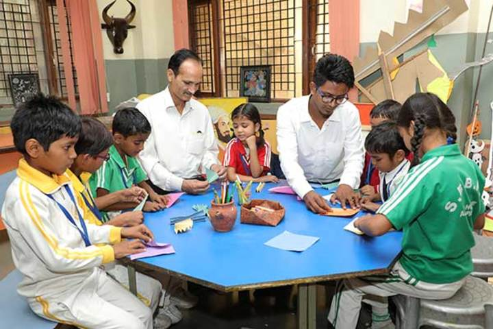 Shree Bhavans Bharti Public School-Arts And Craft