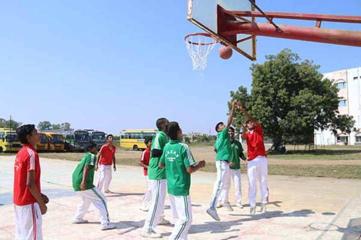 Shree Bhavans Bharti Public School-Basket Ball