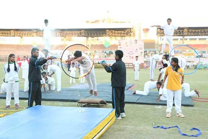 Shree Bhavans Bharti Public School-Gyminastic
