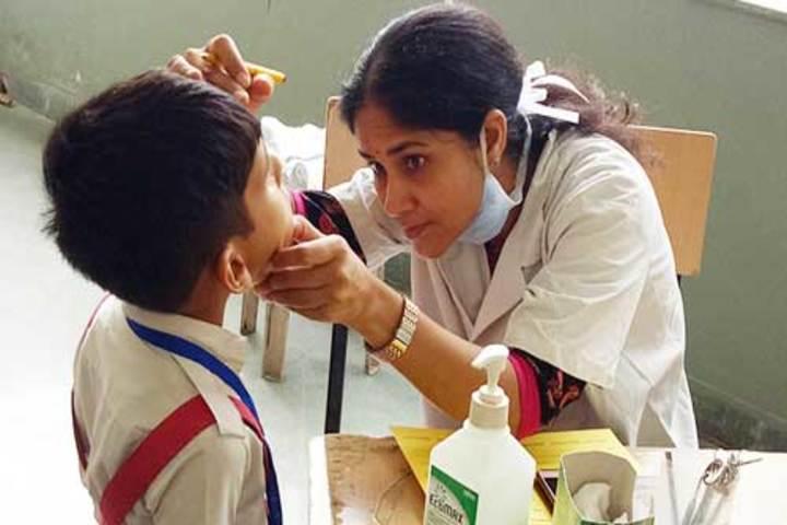 Shree Bhavans Bharti Public School-Medical Facility