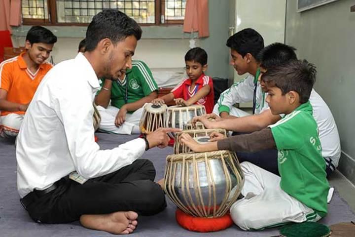 Shree Bhavans Bharti Public School-Music Room