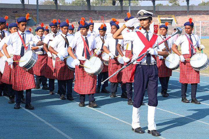 Shree Bhavans Bharti Public School-School Band