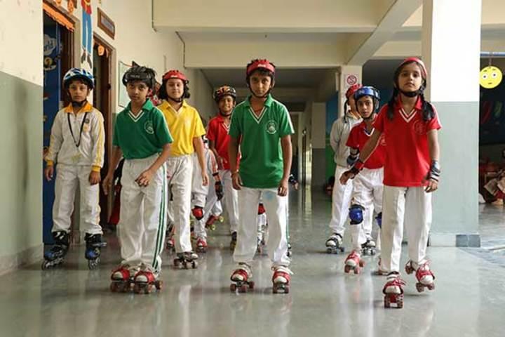 Shree Bhavans Bharti Public School-Skating