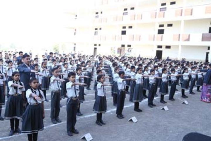 Shree Gurukul School-Assembly