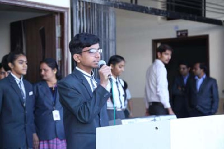 Shree Gurukul School-Speech