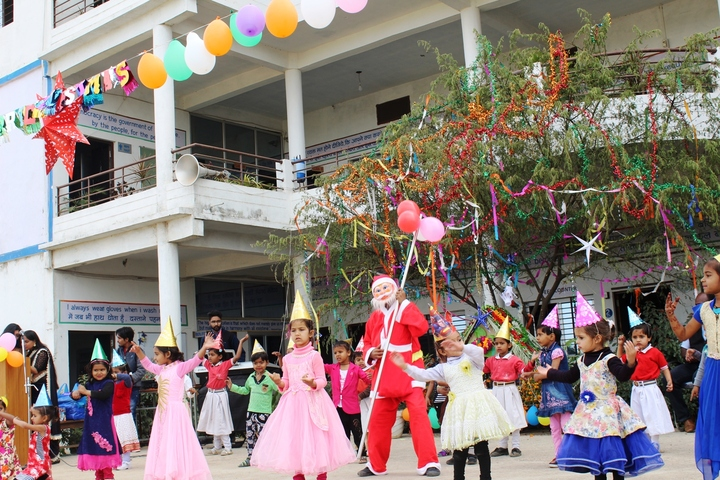 Shree J K Public School-Christmas Celebrations