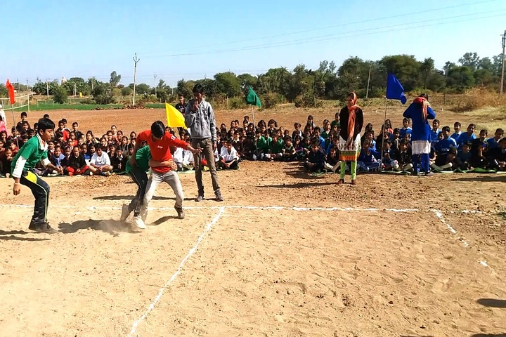 Shree J K Public School-Kabaddi