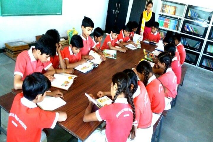 Shree J K Public School-Library