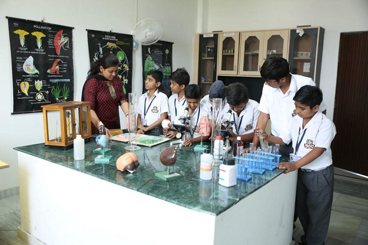 Bishop Scott Boys School-Chemistry Lab