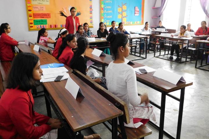 Bishop Scott Girls School-Training Classes
