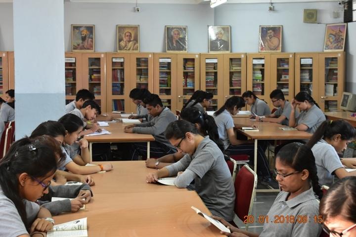 Shri Agrasen Vidyalaya-Library