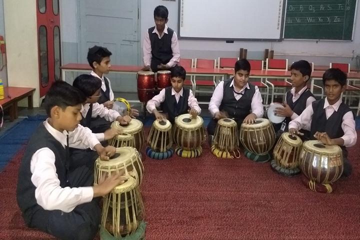 Shri Agrasen Vidyalaya-Music