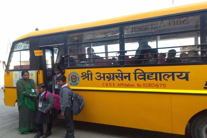 Shri Agrasen Vidyalaya-Transportation