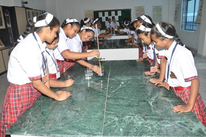 Bishop Scott Senior Secondary Girls School-Chemistry Lab